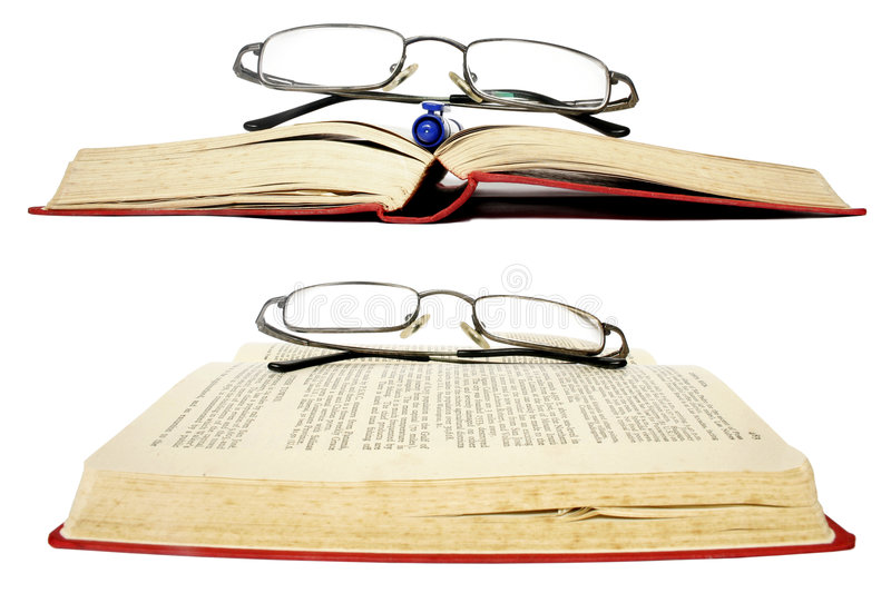 Download Glasses and Books stock image. Image of administration - 461295