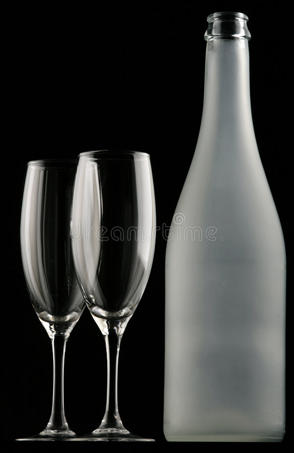 Free Glasses & Bottle Royalty Free Stock Photography - 1697367