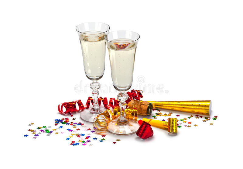 Download Glasses of champagne stock image. Image of sparkling - 15498351