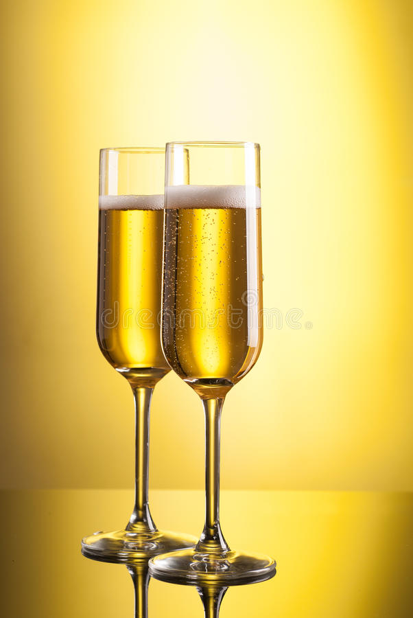 Download Glasses of champagne stock image. Image of congrats, bubbles - 27448053