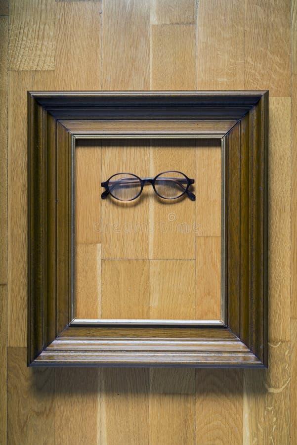 Download Glasses stock photo. Image of madera, framework, wooden - 40068364