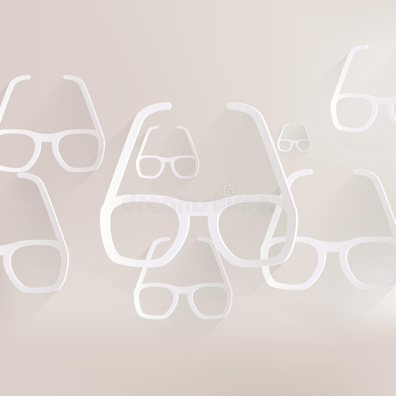Glasses icon stock illustration