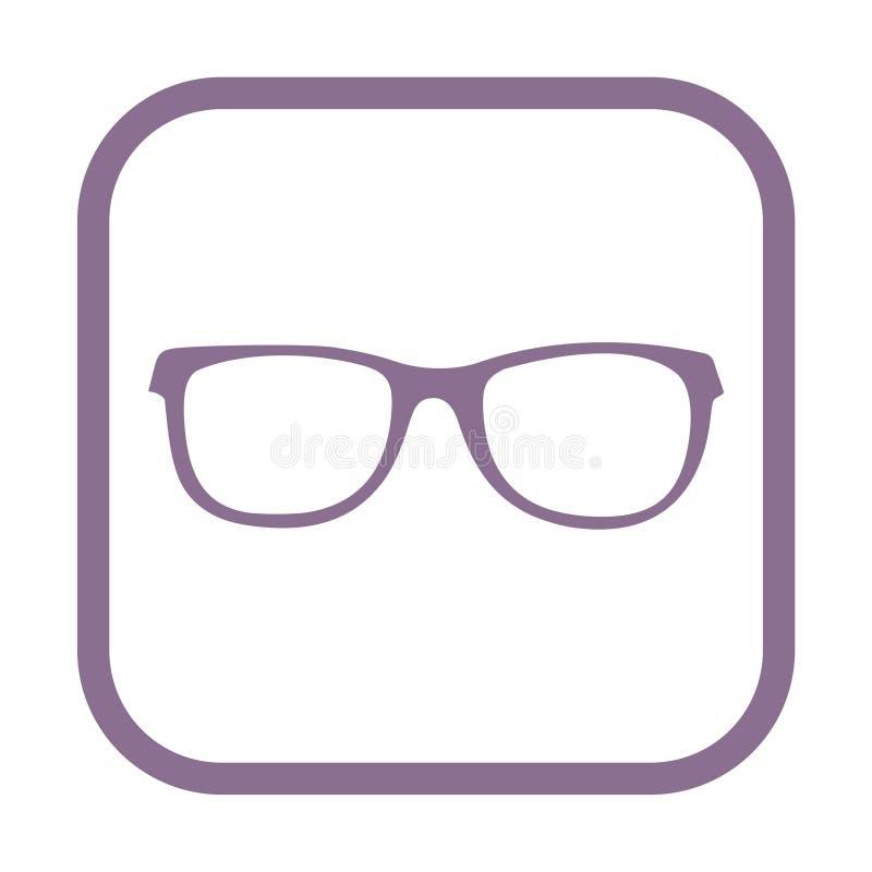 Glasses icon vector illustration