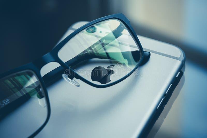 Glasses On Iphone Free Public Domain Cc0 Image