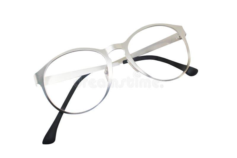 Glasses isolated on white background for applying. photo. object.  stock illustration