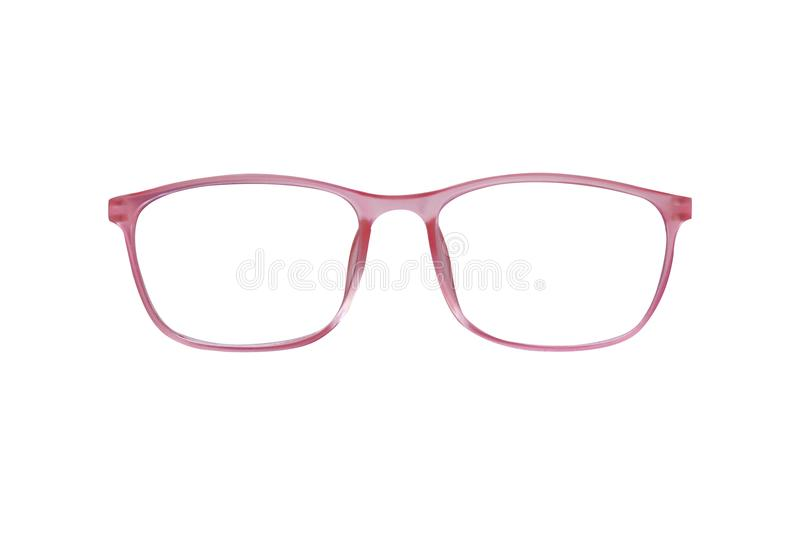 Glasses isolated on white background for applying. photo. object.  vector illustration