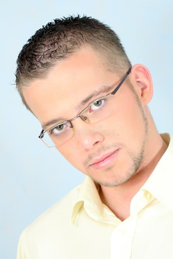 glasses man young στοκ φωτογραφίες
