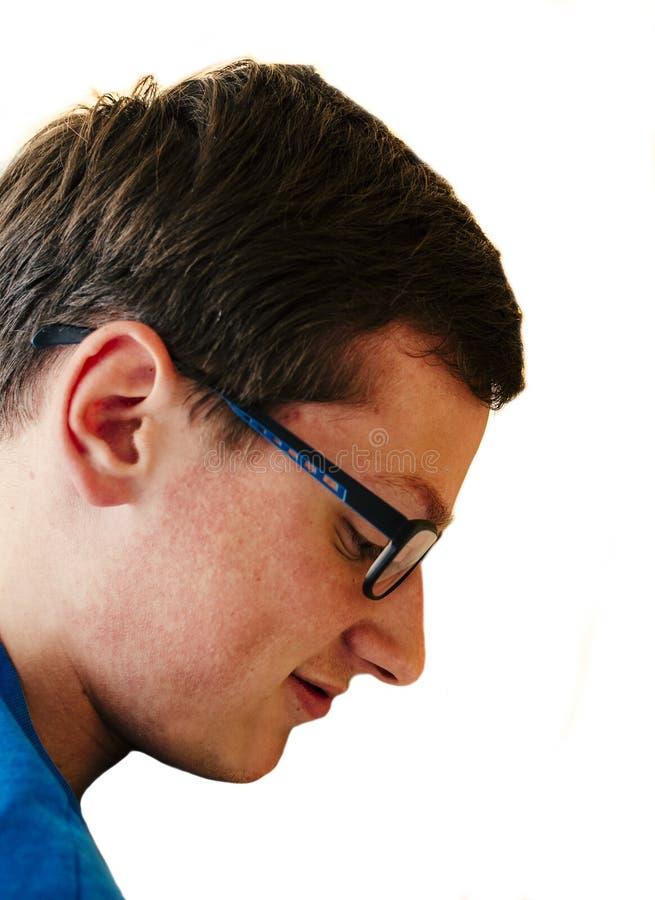 glasses men arkivfoto