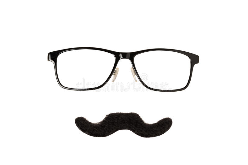 Download Glasses and Moustache stock photo. Image of fashion, identity - 50294248
