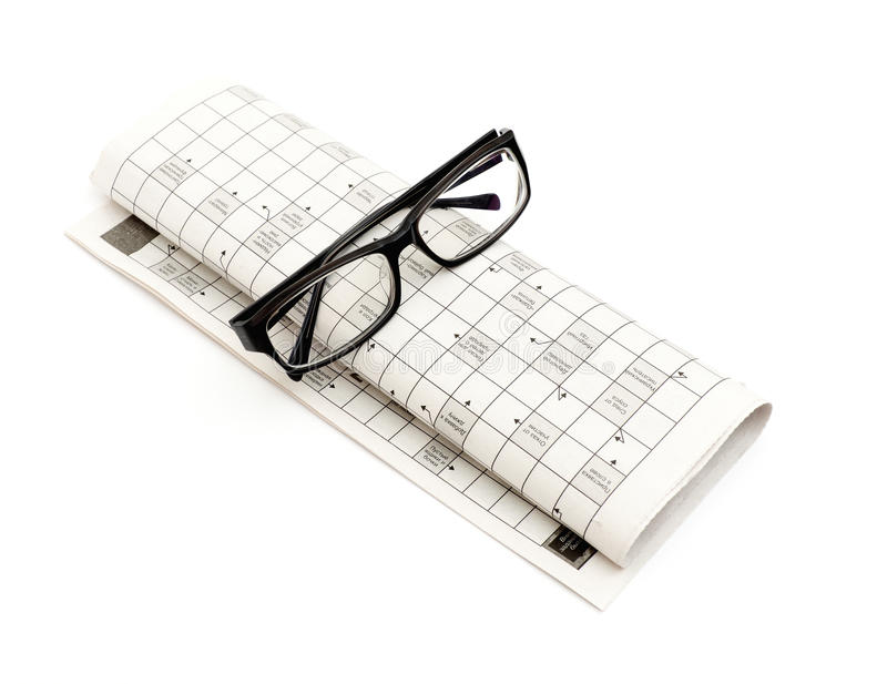 Download Glasses, Pen And Mutual Funds On Newspaper Stock Image - Image: 17489185