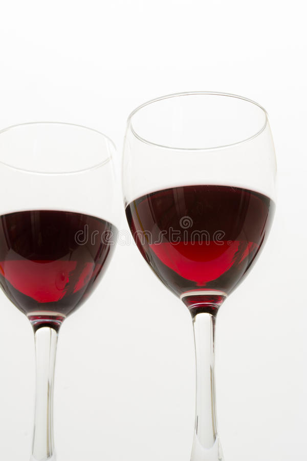 Download Glasses of red wine stock photo. Image of comforting - 39603186