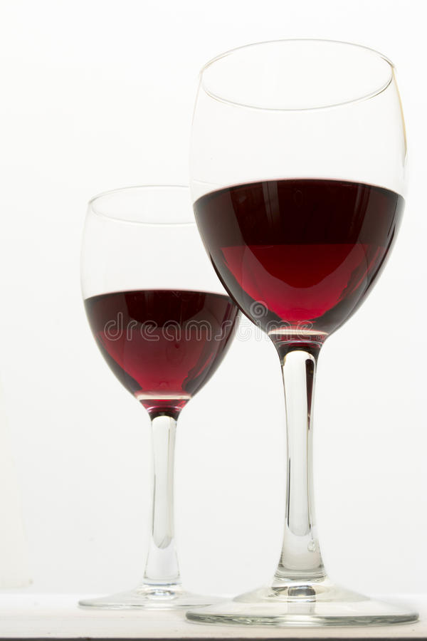 Download Glasses Of Red Wine Stock Photo - Image: 39603291