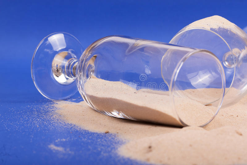 Download Glasses With Sand Stock Photo - Image: 83712027