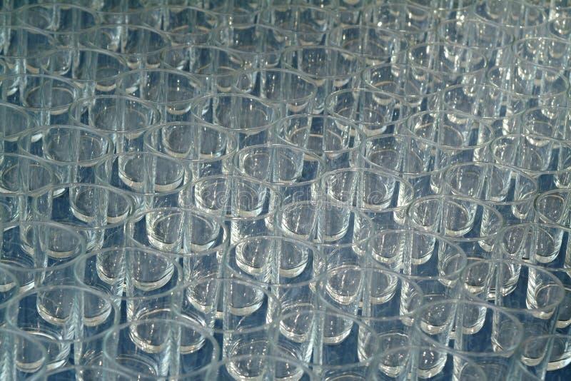 Glasses texture royalty free stock photos