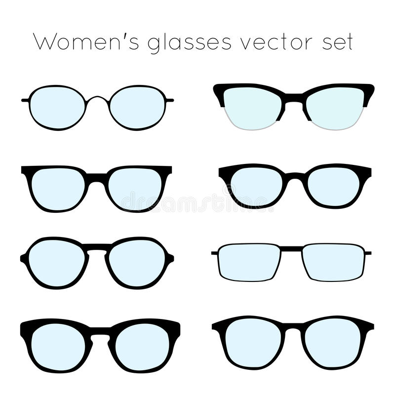 Glasses 4 stock vector. Illustration of hipster, metal - 61261594