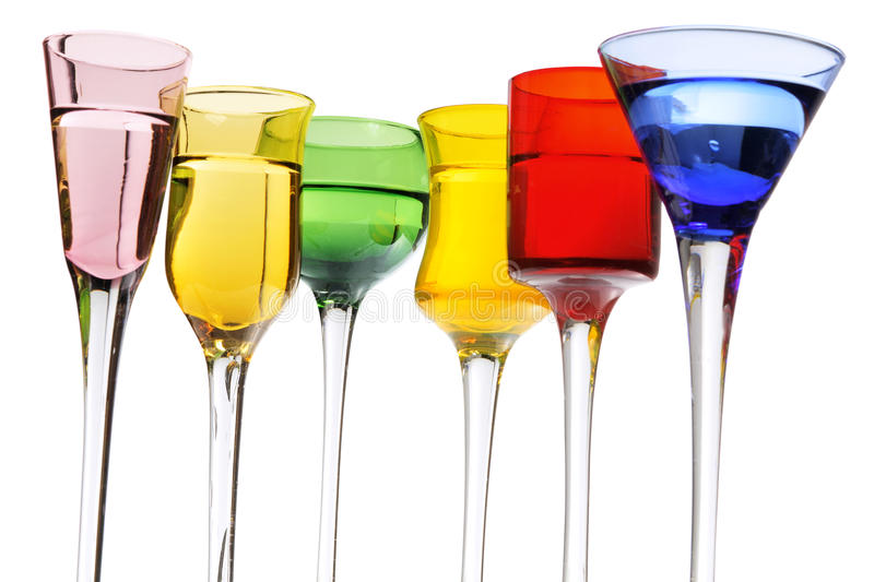 Download Glasses of Wine stock image. Image of white, refreshment - 21606683