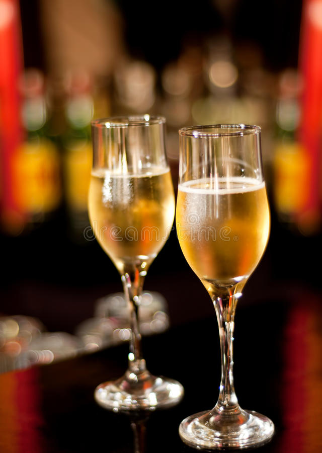 Free Glasses With Champagne Royalty Free Stock Image - 15309316