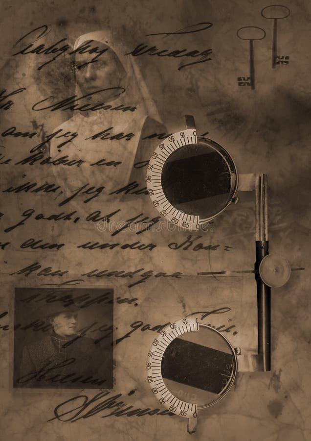 Download Glasses ww2 stock illustration. Image of medicine, keys - 508787