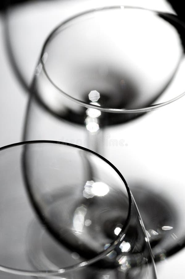 glasses2红葡萄酒 库存图片