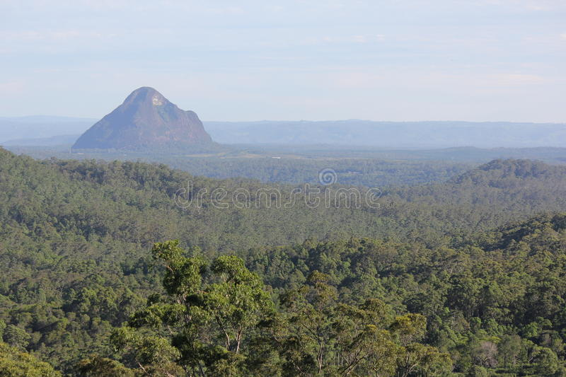 Glasshouse Mountains National Park 3. Views surrounding the Glasshouse Mountains in Queensland, Australia stock photography