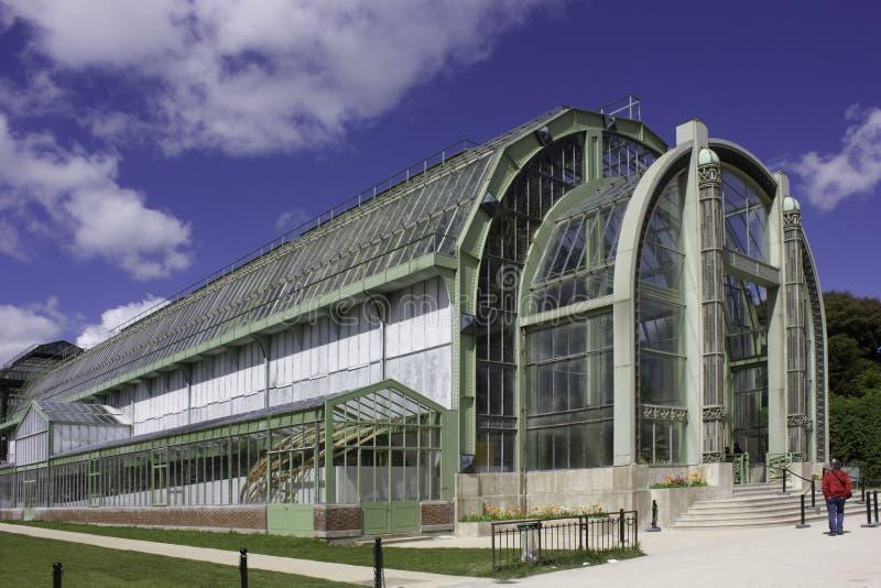 Glasshouse w Paryż zdjęcie royalty free
