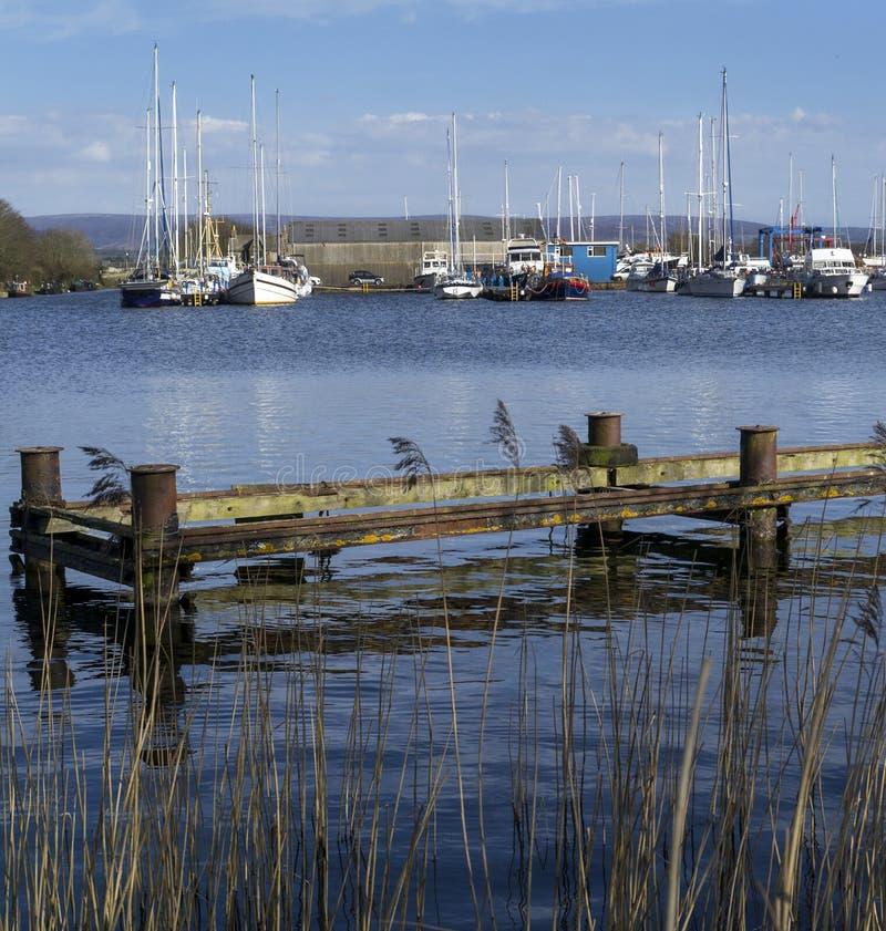 Glasson Dock - Lancashire - England Stock Images