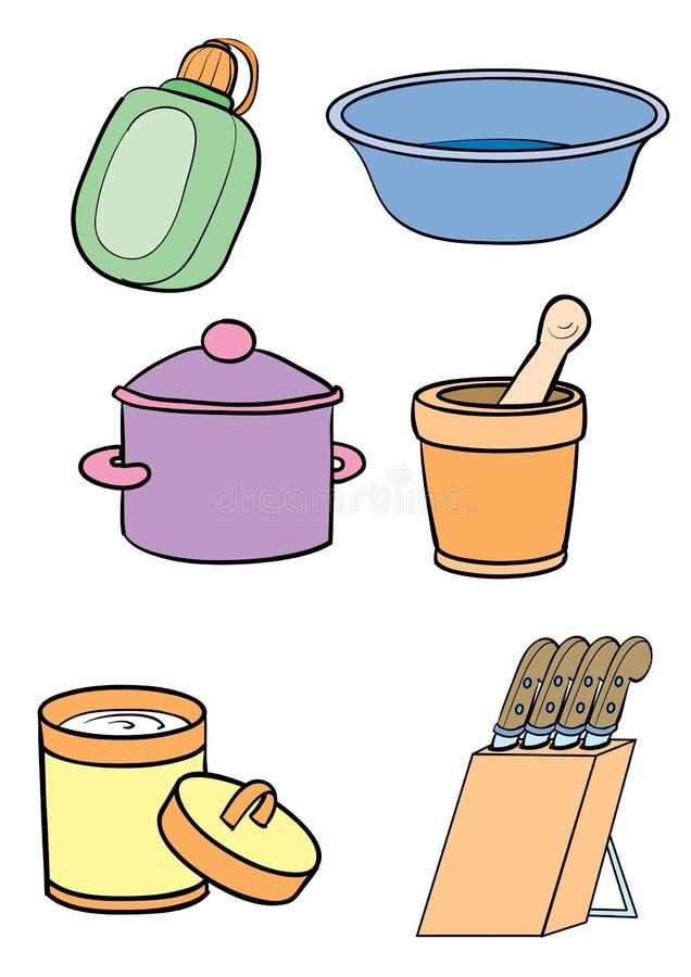 glassware ilustracja wektor