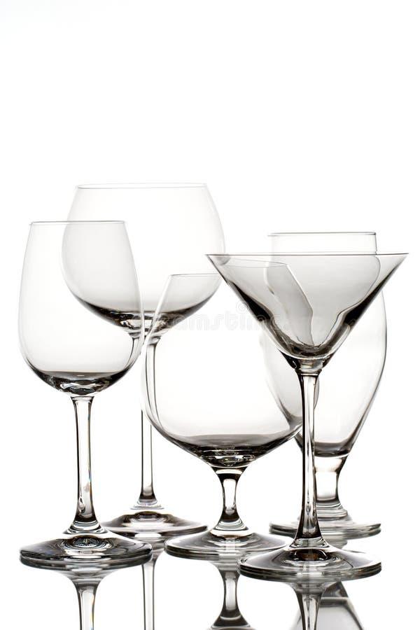 glassware zdjęcie stock