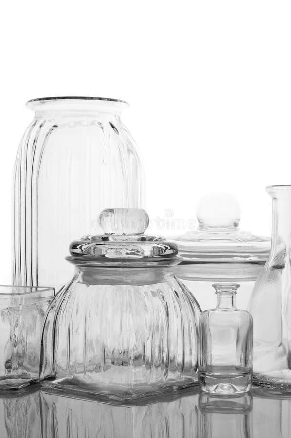 Glassware kolekcja zdjęcia royalty free