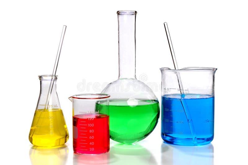 glassware laboratorium zdjęcie royalty free