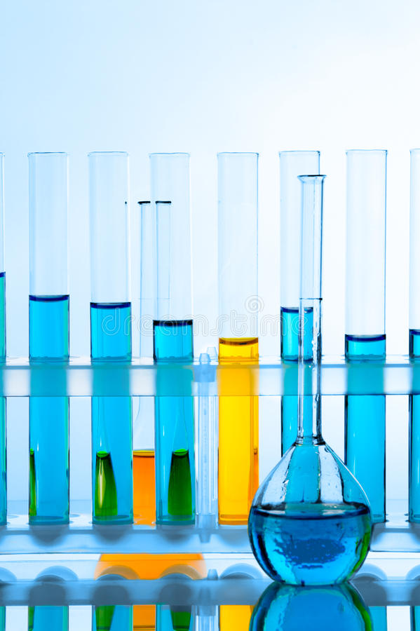 glassware laboratorium obrazy royalty free