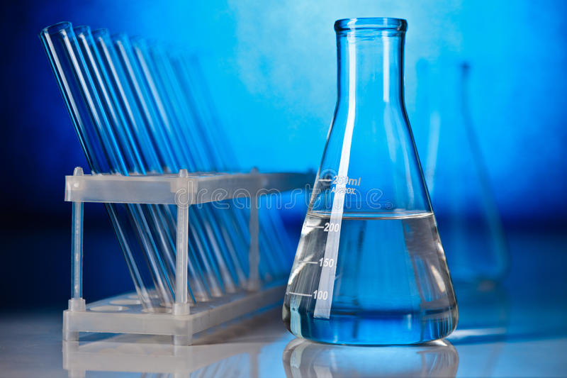 glassware laboratorium obraz royalty free