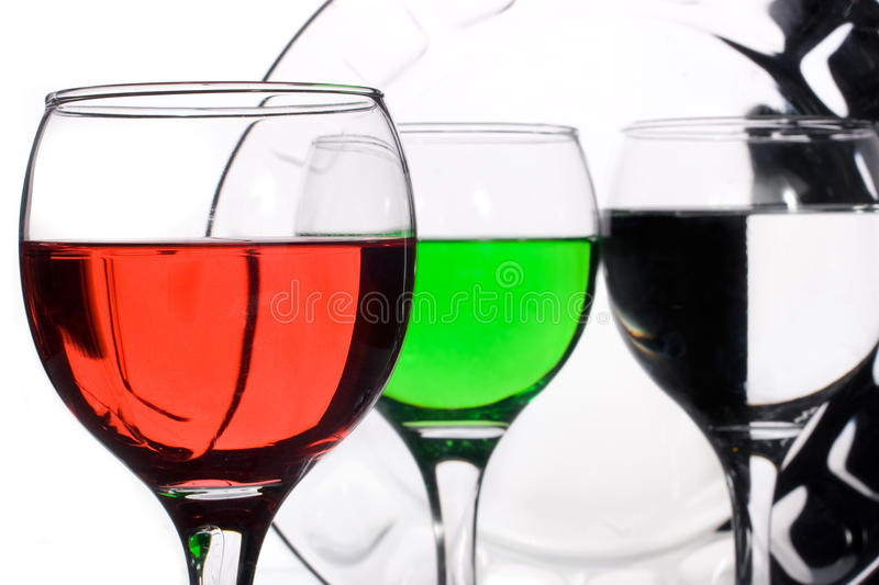 Download Glassware With Multi-coloured Liquids Stock Image - Image: 13374819