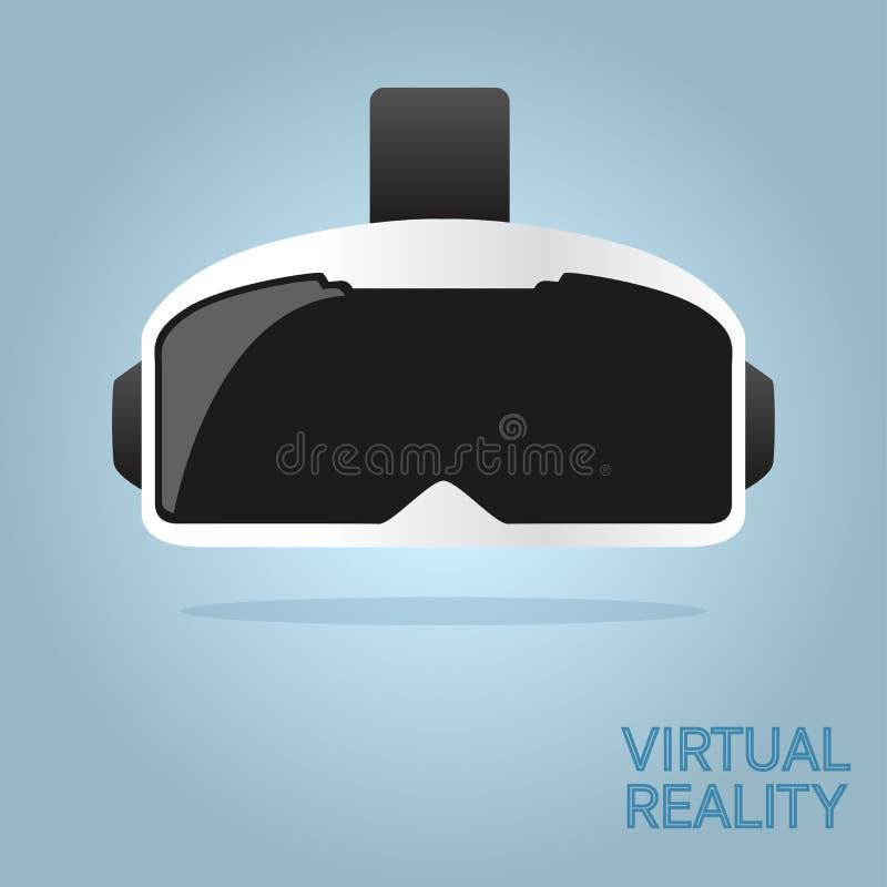 Glastechnologie VR-virtueller Realität lizenzfreies stockbild