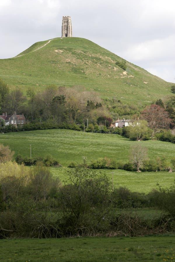 glastonbury σκαπάνη somerset στοκ εικόνες με δικαίωμα ελεύθερης χρήσης