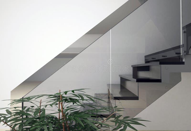 Glastreppenhaus vektor abbildung