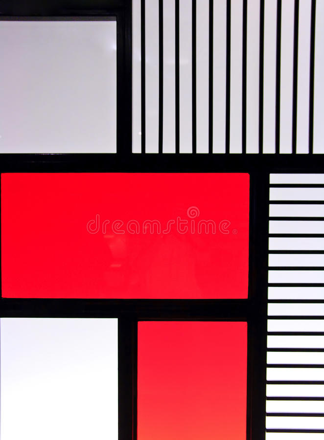 glasvägg arkivbild