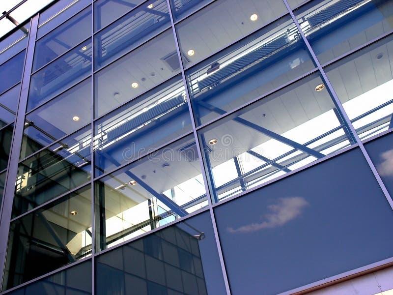 Glasvägg Arkivbilder