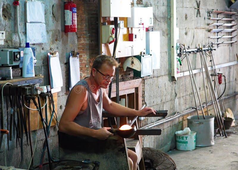 Glasventilator het Werken stock foto's