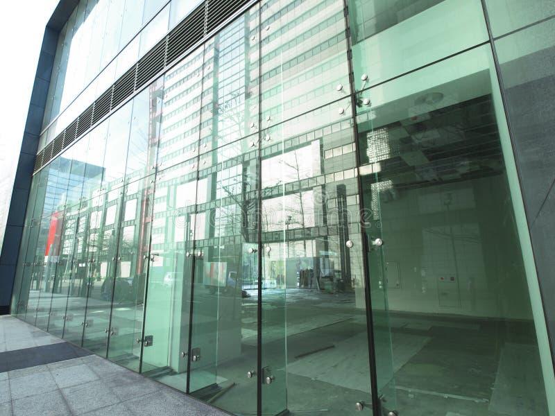 Glaswand stockfotografie