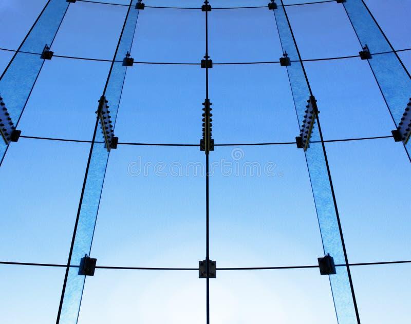 Glaswandstruktur stockbild