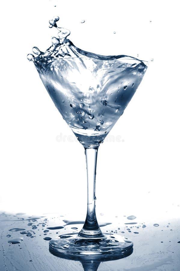 Glaswasser lizenzfreies stockbild
