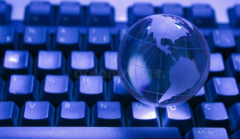 Glasweltkugel lizenzfreie stockfotografie