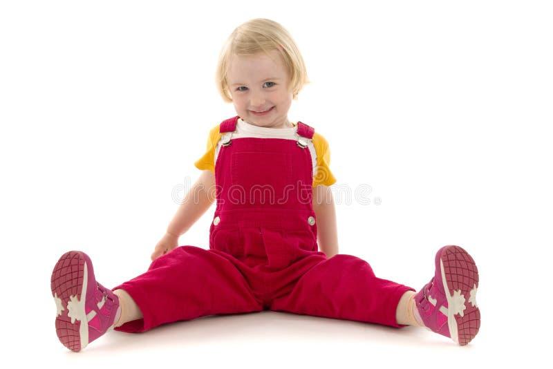 glatt barn royaltyfria bilder