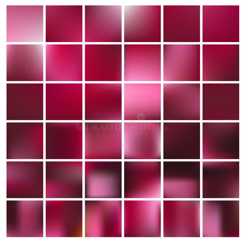 Glatte abstrakte bunte Hintergründe eingestellt - eps10 stockbilder