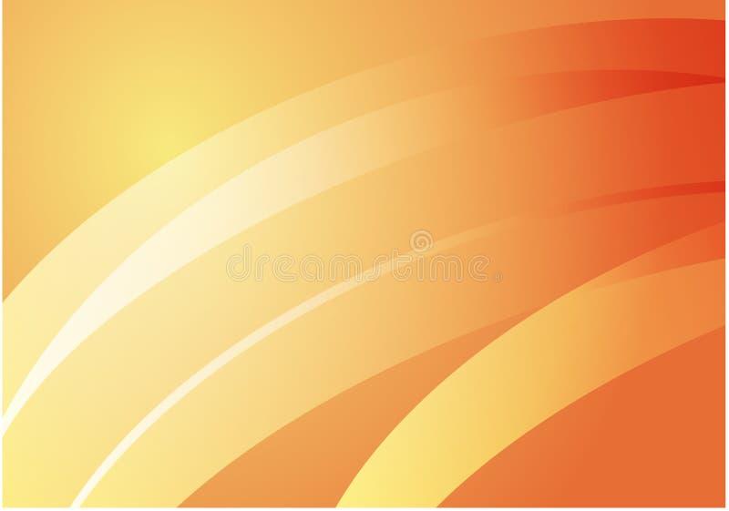 Glatte Lichtbogen stock abbildung