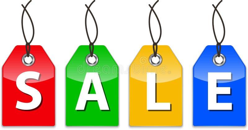 Glatte Preise für Verkauf lizenzfreie abbildung