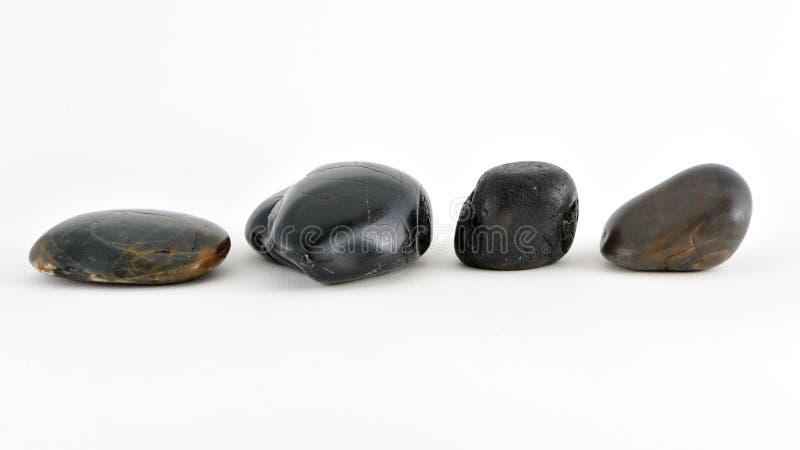 Glatte Steine lizenzfreie stockfotos