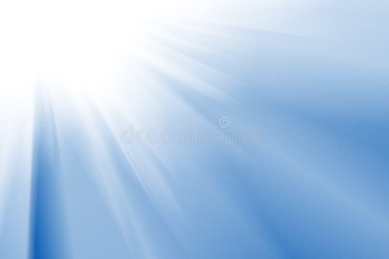 Glatter blauer abstrakter Hintergrund vektor abbildung