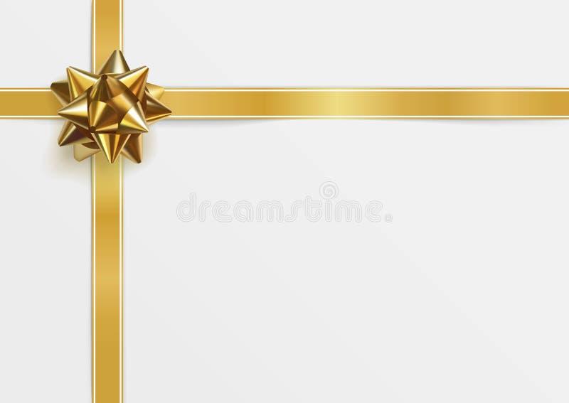 Glatter goldener Bogen Datei ENV-8 eingeschlossen lizenzfreie abbildung
